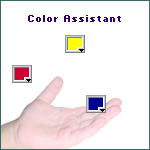 Color Assistant - A Dreamweaver MX toolbar...
